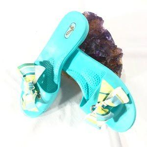 Oka Bee Slip On Bow Tie Sandal